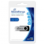 MediaRange USB 2.0 Flash Drive, 32 GB