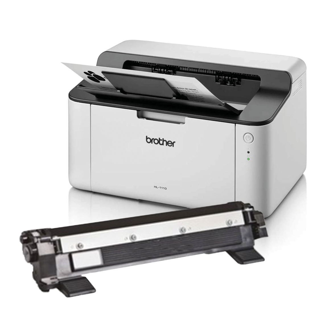 Brother HL-1110 laserprinter zwart-wit combideal