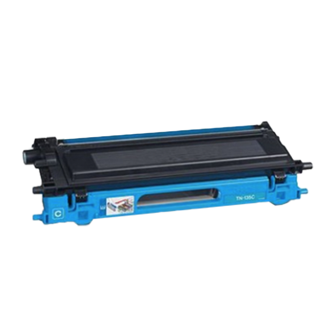 Huismerk Brother TN-135 toner cyaan