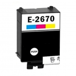 Epson Workforce WF 100 Huismerk Epson T267 inktcartridge kleur