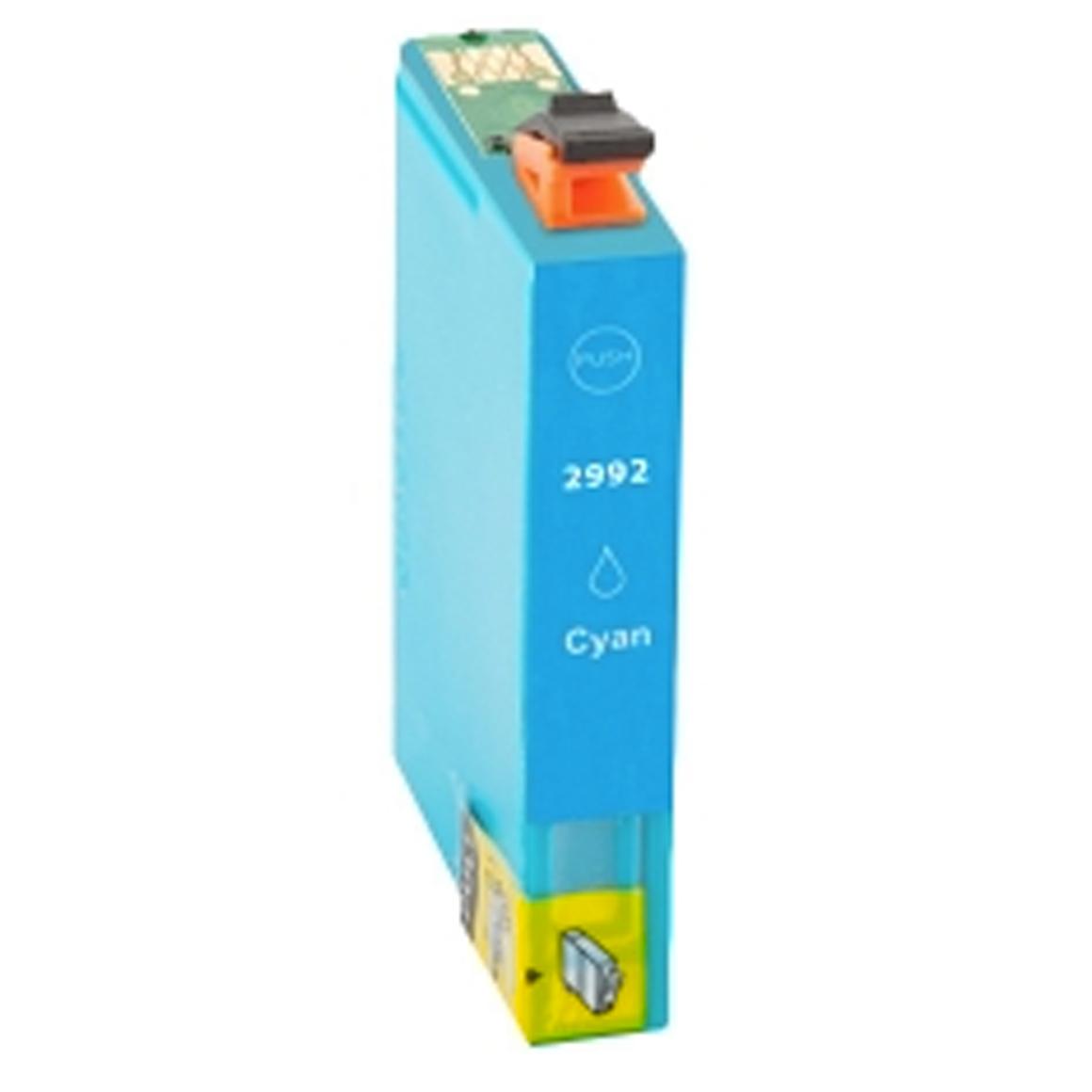 Afbeelding van Epson Expression Home XP 257 inkt cartridge Cyan 29 Xl T2992 (huismerk inktcartridges)