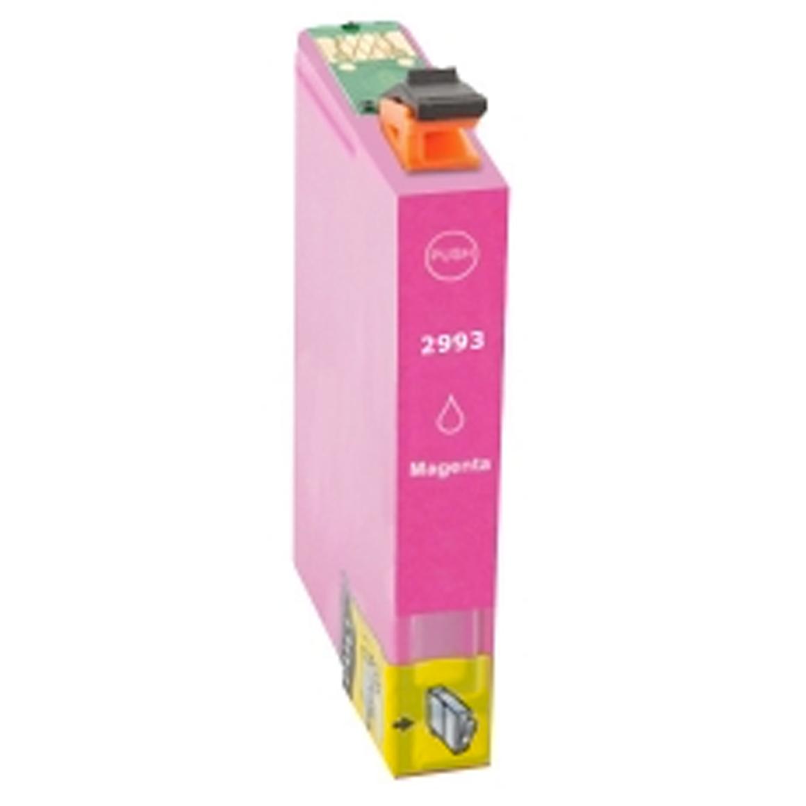 Afbeelding van Epson Expression Home XP 257 inkt cartridge Magenta 29 Xl T2993 (huismerk inktcartridges)