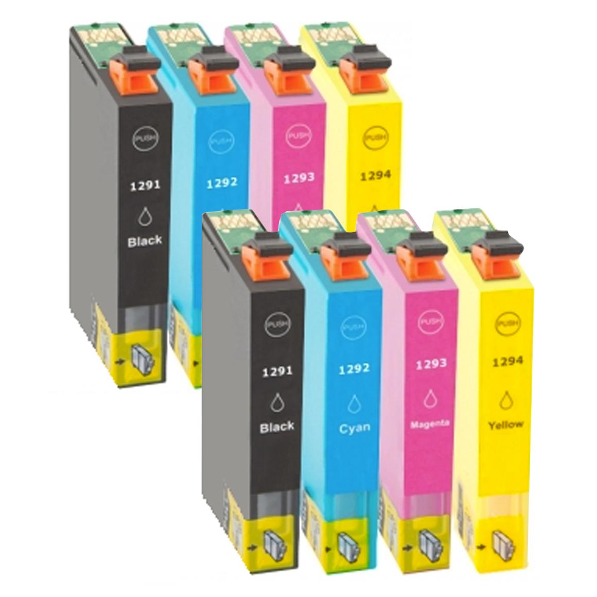 Afbeelding van 2x Epson T1295 Voordeelbundel (huismerk inktcartridges)