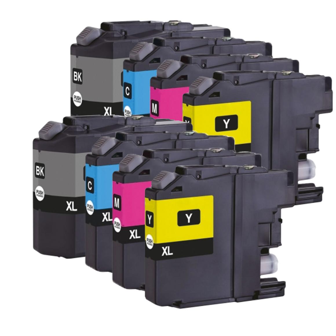 Afbeelding van 2x Brother LC 127 XL Multipack (huismerk inktcartridges)