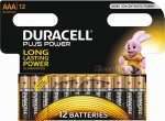 Duracell Plus Power AAA 12-Pack