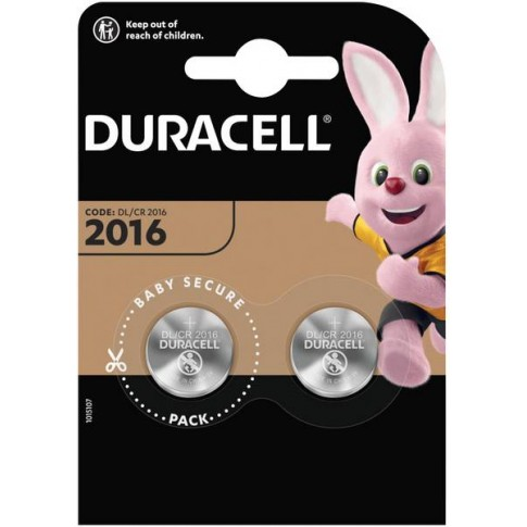 Duracell 2016 3V knoopcel Duo-pack