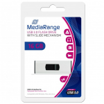MediaRange USB 3.0 Flash Drive, 16 GB